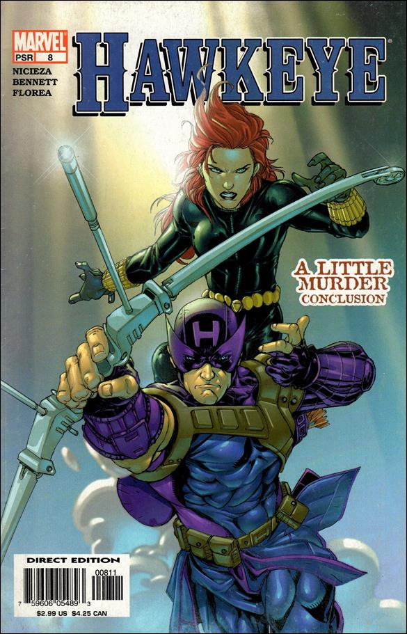 Hawkeye (2003) 8-A by Marvel