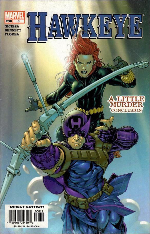 Hawkeye (2003) 8-A by Marvel