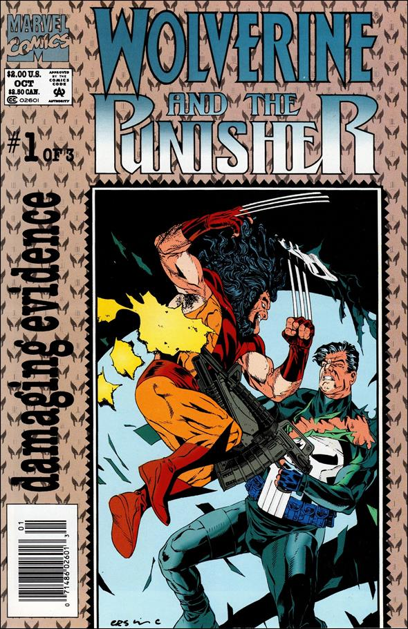 Wolverine and the Punisher: Damaging Evidence 1-A by Marvel