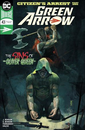 Green Arrow (2016) 43-A