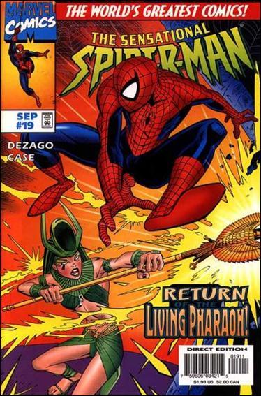 Sensational Spider-Man (1996) 19-A by Marvel