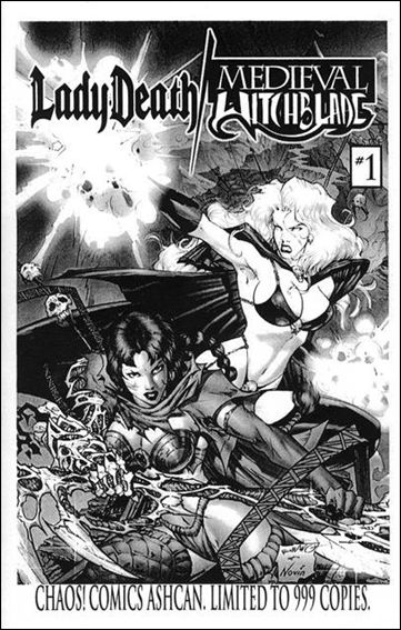 Lady Death/Medieval Witchblade Ashcan-A by Chaos! Comics