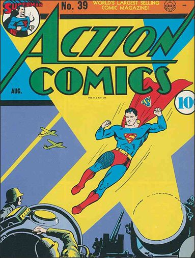 Action Comics (1938) 39-A by DC