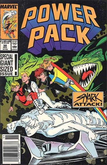 Power Pack (1984) 50-A by Marvel