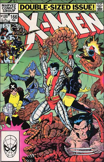 Uncanny X-Men (1981) 166-A by Marvel