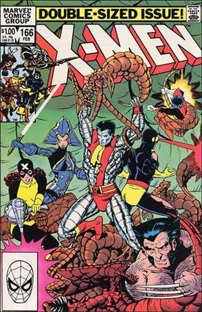 Uncanny X-Men (1981) 166-A