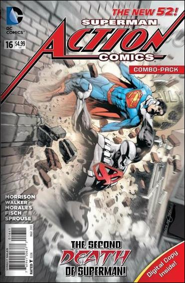 Action Comics (2011) 16-B by DC