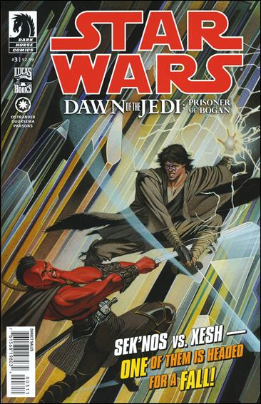 Star Wars: Dawn of the Jedi - Prisoner of Bogan 3-A by Dark Horse