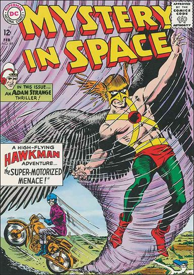 Mystery in Space (1951) 89-A by DC