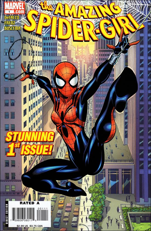 Amazing Spider-Girl 1-A by Marvel