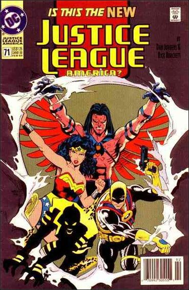 Justice League America 71-B by DC