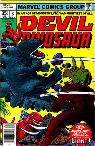 Devil Dinosaur 3-A by Marvel