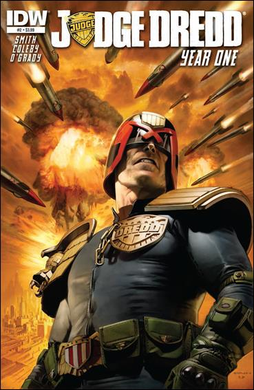 Judge Dredd: Year One 2-A by IDW