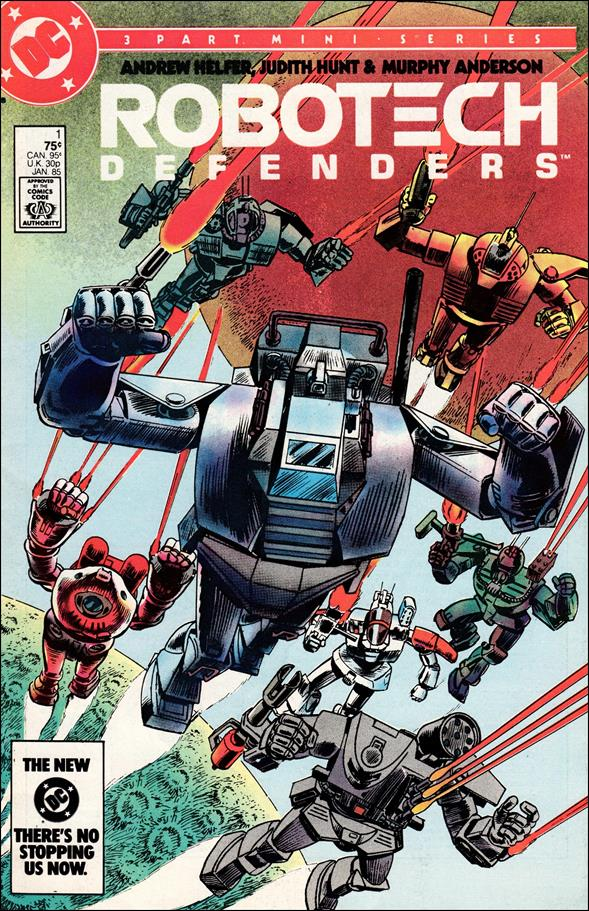 Robotech Defenders 1-A by DC
