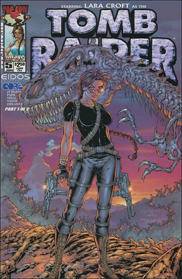 Tomb Raider: The Series 5-A by Top Cow