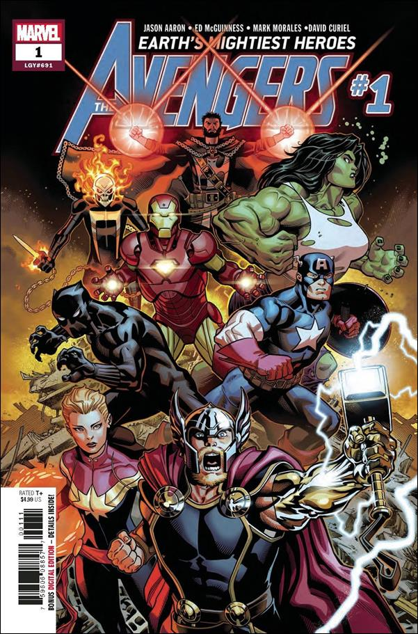 Avengers (2018/07) 1-A by Marvel