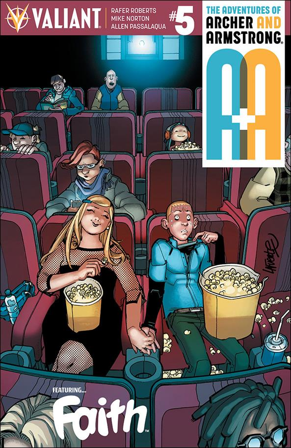 A&A: The Adventures of Archer & Armstrong 5-B by Valiant Entertainment