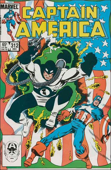 Captain America (1968) 312-A by Marvel