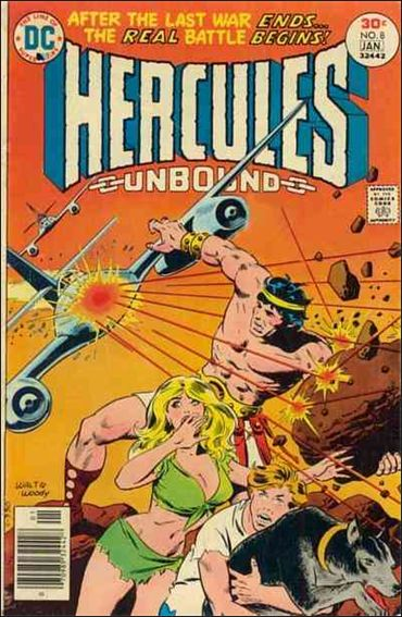 Hercules: Unbound 8-A by DC