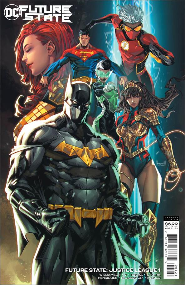 Future State: Justice League 1-B by DC