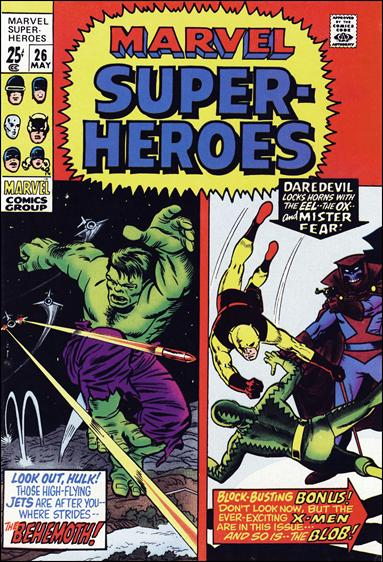 Marvel Super-Heroes (1967) 26-A by Marvel