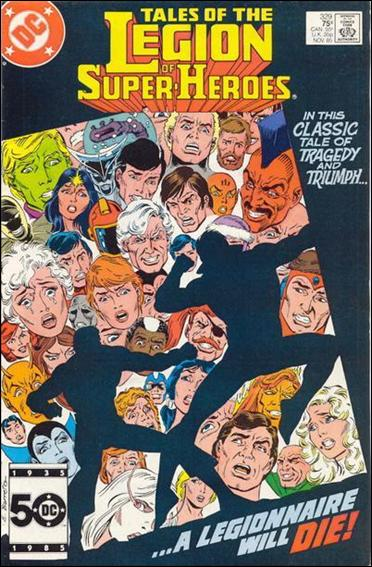 Tales of the Legion of Super-Heroes 329-A by DC