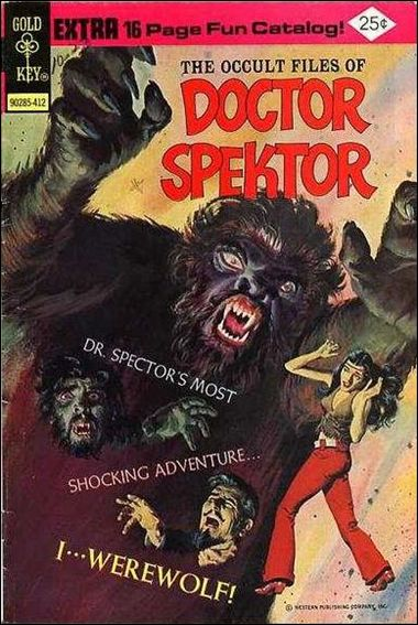 Occult Files of Dr. Spektor 11-A by Gold Key