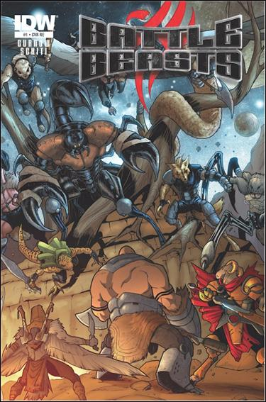 Battle Beasts (2012) 1-C by IDW