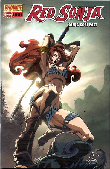 Red Sonja Goes East 1-B by Dynamite Entertainment