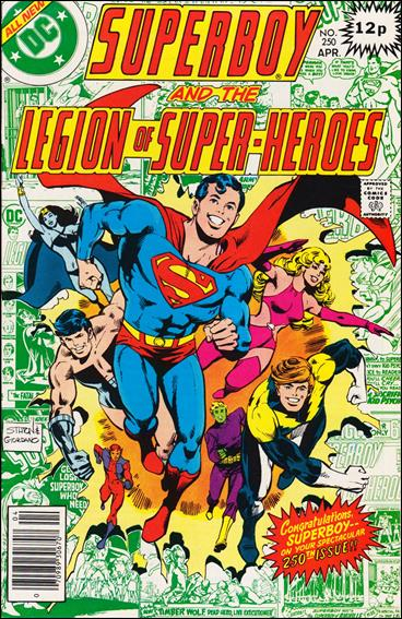 Superboy & the Legion of Super-Heroes 250-B by DC