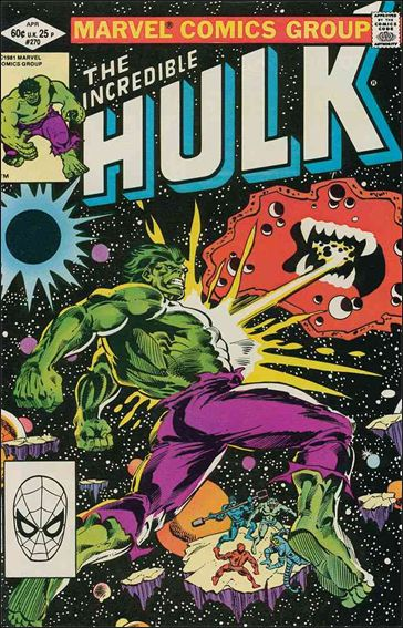 Incredible Hulk (1968) 270-A by Marvel