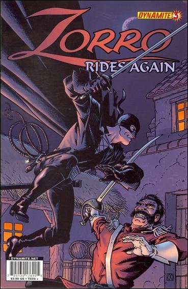 Zorro Rides Again 3-A by Dynamite Entertainment