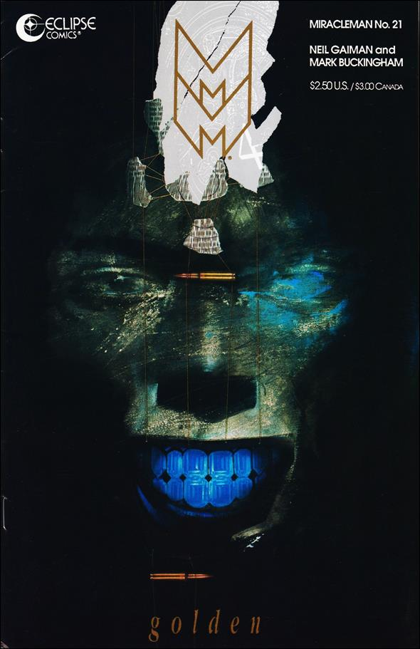 Miracleman (1985) 21-A by Eclipse