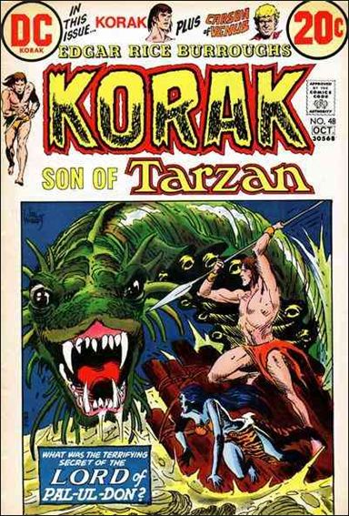 Korak, Son of Tarzan 48-A by DC