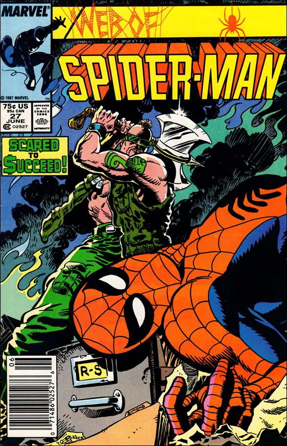 Web of Spider-Man (1985) 27-A by Marvel