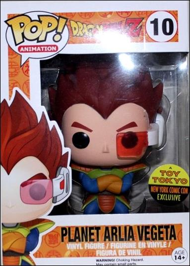 Pop Animation Planet Arlia Vegeta Jan 2014 Action Figure