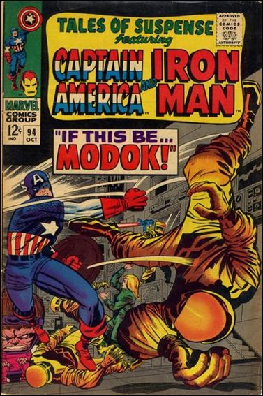 Tales of Suspense (1959) 94-A by Marvel