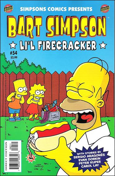 Simpsons Comics Presents Bart Simpson 54-A by Bongo