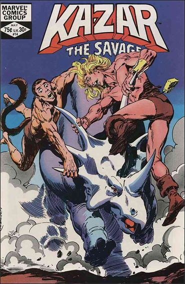 Ka-Zar the Savage 14-A by Marvel