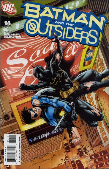 Batman and the Outsiders (2007) 14-A by DC