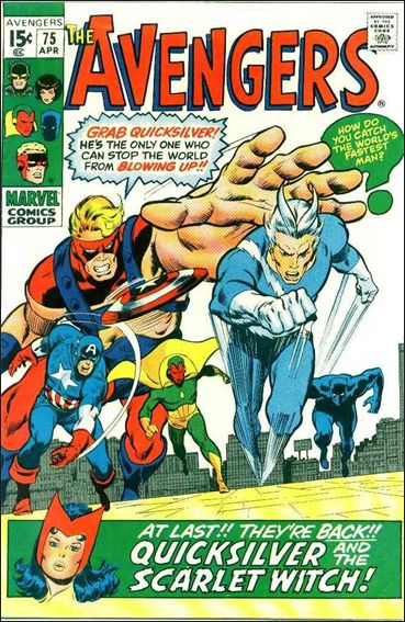 Avengers (1963) 75-A by Marvel