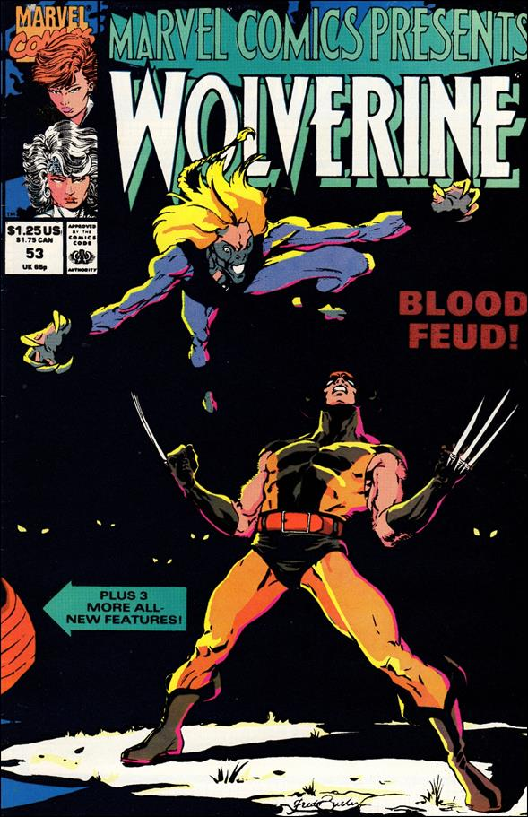 Marvel Comics Presents (1988) 53-A by Marvel