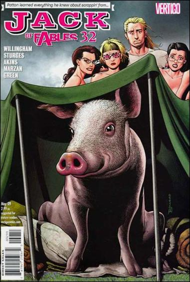 Jack of Fables 32-A by Vertigo