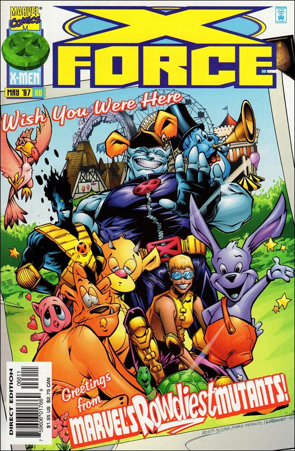 X-Force (1991) 66-A by Marvel