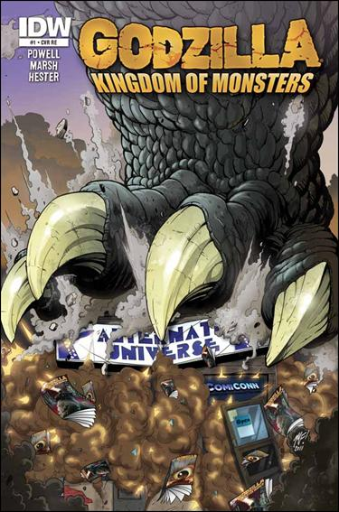 Godzilla: Kingdom of Monsters 1-ME by IDW