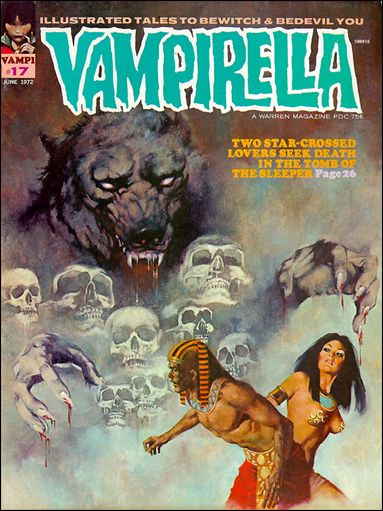 Vampirella 17-A by Warren