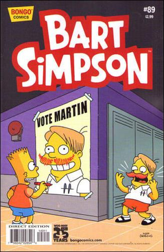 Simpsons Comics Presents Bart Simpson 89-A by Bongo