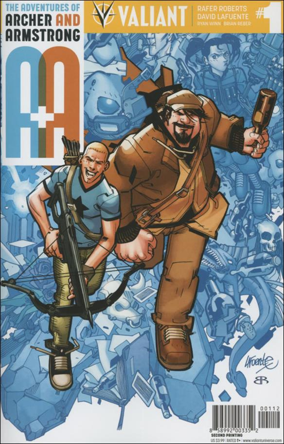 A&A: The Adventures of Archer & Armstrong 1-O by Valiant Entertainment