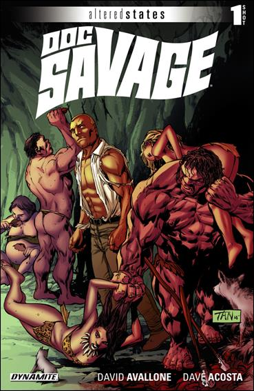 Altered States: Doc Savage nn-A by Dynamite Entertainment