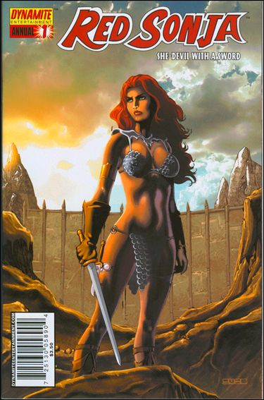 Red Sonja Annual 1-C by Dynamite Entertainment